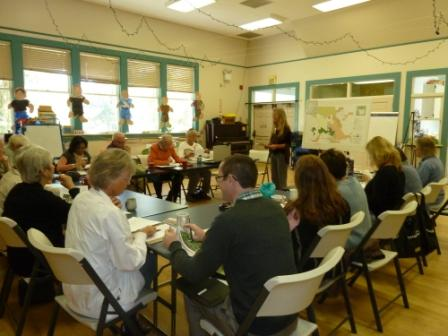 2013 Volcan Mountain Foundation Advisory Board Meeting at Spencer Valley School