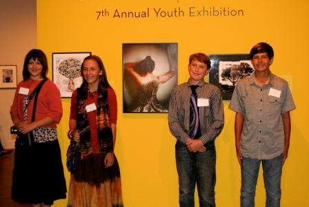Julian Students at MOPA Youth Exhibition-Photo by Jeff Holt