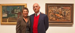Art Collectors & Volcan Mountain Foundation Supporters, Bram & Sandy Dijkstra
