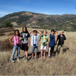 2014 Fall-Kids With Cameras on Volcan Mountain-Photo by Jeff Holt