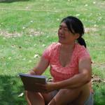 Interpreter Mary Aldern teaches VMF docents