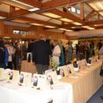 Guest Enjoying 2014 VMF Silent Auction; Photo by Audrey Smith