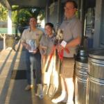 Ransom Brothers employees with their generous tool donation