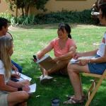 Volunteer Intrepretive Training-outside group