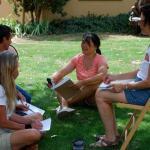 Volunteer Intrepretive Training-outside group