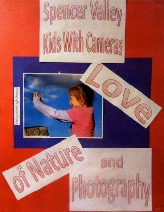 Spencer Valley Kids With Cameras Julian Library Poster